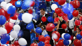 Whose convention is it again? MSNBC uses Republican backdrop to promote Democratic convention