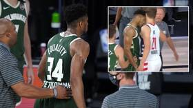 NBA star Giannis Antetokounmpo wishes he could 'turn back time' after ejection for HEADBUTTING rival (VIDEO)