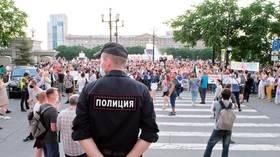 Navalny's regional organizer arrested as Khabarovsk protests enter sixth week