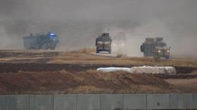 Blast hits joint Russian-Turkish military patrol in Syria's Idlib