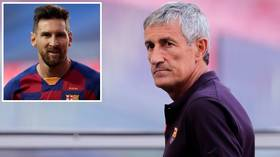 Quique Setien officially SACKED by Barcelona as club wields axe after UEFA Champions League debacle