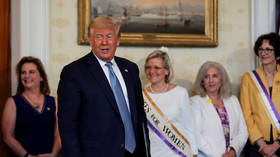 Trump announces surprise pardon for Susan B. Anthony, convicted of voting in 1873, on women's suffrage centennial