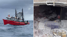 Australian police raid fishing boat and find 1 TON of cocaine, worth up to $180 MILLION