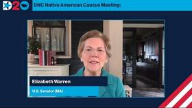 Indian country? Memes and mockery greet Elizabeth Warren's DNC appearance at Native American Caucus