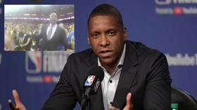 'Back the F*CK up!' Toronto Raptors' Masai Ujiri releases footage of deputy sheriff initiating 'assault' after NBA Finals