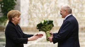Lukashenko's spokeswoman says Belarusian President asked Putin to tell Merkel not to interfere in country's internal affairs