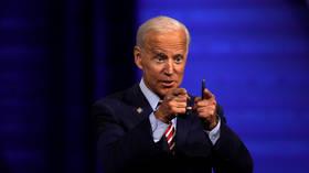 Biden plays president, demands Russia fall in line on Belarus