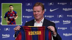 'I don't know if I have to convince him': New Barca boss Koeman says 'decisions need to be made' but is 'hopeful' Messi stays