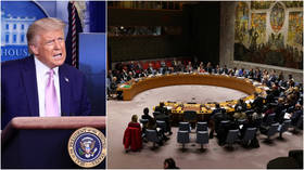 Trump demands full restoration of UN sanctions on Iran, as Pompeo warns Russia & China not to meddle