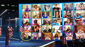 Please clap: DNC mocked for failing to find 30 people to cheer for Kamala Harris as duplicates spotted on live feed
