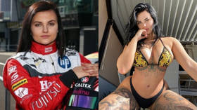 Racing driver-turned-porn-star Renee Gracie says her father convinced her to STAY in adult industry