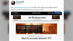 Journalism professor melts down after seeing Trump ads on Washington Post website, accusing the paper of SELLING ITS SOUL