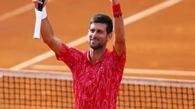 'I am not afraid': Novak Djokovic dismisses health concerns ahead of US Open as he pursues Roger Federer's Grand Slam record