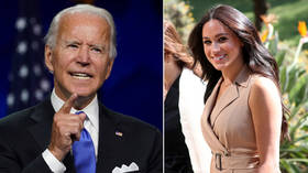 'Election meddling'? Meghan Markle all but endorses Joe Biden, crossing political line that is off limits for British royals