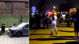 Riots & looting in Kenosha, Wisconsin as police reportedly shoot black man in the back SEVEN TIMES (VIDEO)