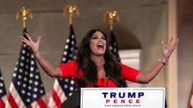 'Hear me roar!' Trump Jr's girlfriend Kimberly Guilfoyle steals show at RNC with high-volume speech (VIDEO)