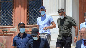 Man United star Maguire 'brawled with Albanians who injected sister with unknown substance' before arrest in Greece, court hears
