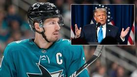 'Is this REALLY what we are coming to?' NHL star claims he was PUNCHED after discussing Donald Trump & Republicans