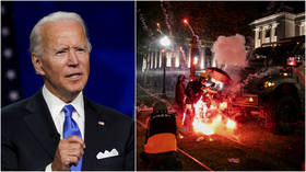 Taking cues from Don Lemon? Biden rushes to condemn Kenosha riots after CNN host says Dem silence 'shows up in the polls'