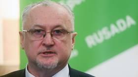 Russian anti-doping chief Yuri Ganus FIRED over 'financial irregularities'