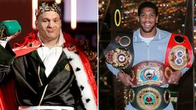 'Grow a pair': Tyson Fury calls on Anthony Joshua to dismiss mandatory challengers and focus on December 'Battle of Britain'