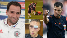 'I'm challenging you to an MMA fight': Referee calls out ex-Russia captain Shirokov after savage attack left official in hospital
