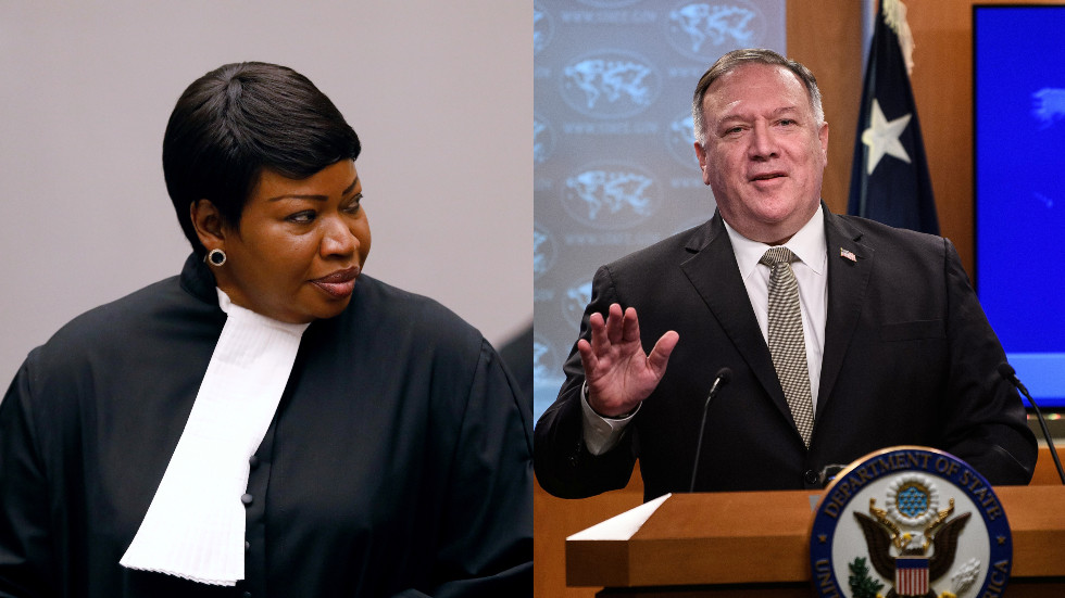 EU & France call on US to reverse 'unacceptable' sanctions against International Criminal Court's war crimes investigators