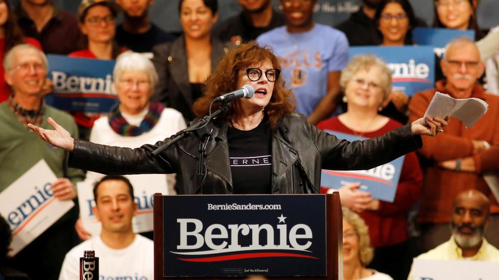 'Destroying America?' Susan Sarandon riles centrist Joe Biden supporters with endorsement of socialist third-party proposal
