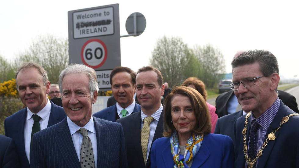 Pelosi warns London there will be 'absolutely no chance' of UK-US trade deal if it violates Brexit protocol on Northern Ireland