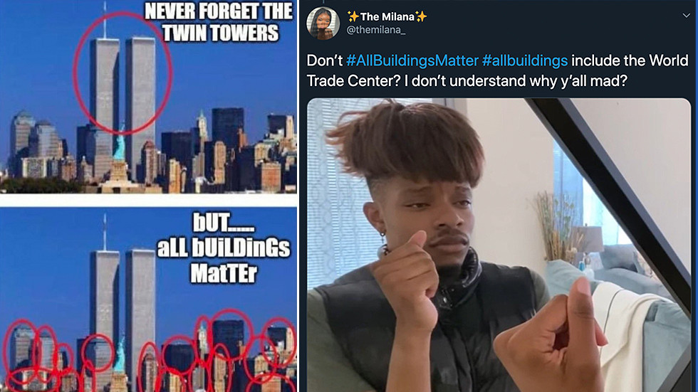 #AllBuildingsMatter hashtag sends Twitter into meltdown on 9/11 anniversary