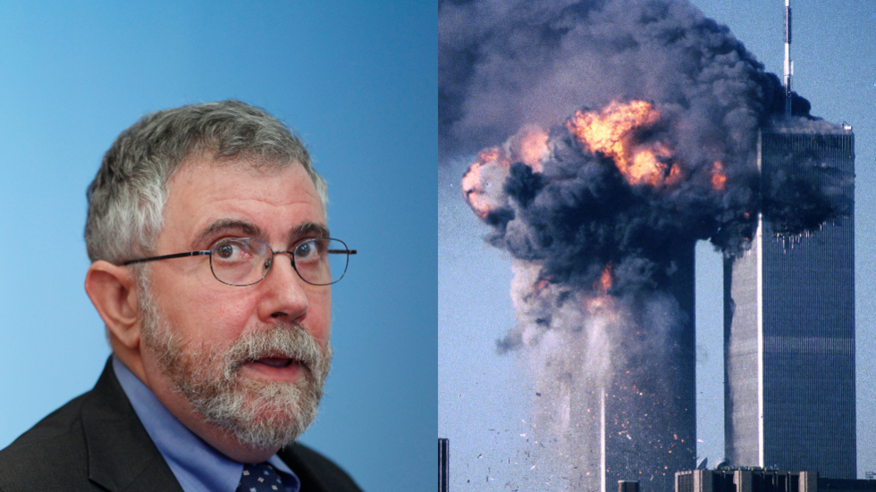 NYT columnist Paul Krugman ripped after claiming Americans reacted 'calmly' to 9/11 & didn't blame Muslims