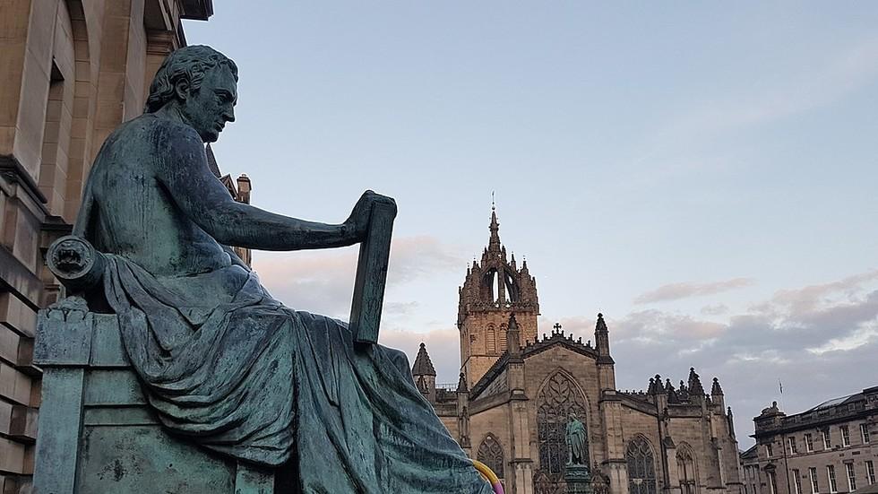 'Pathetic, spineless, dumb': Edinburgh University CANCELS dead genius David Hume