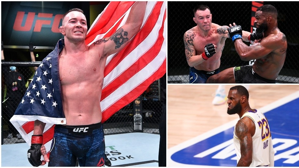 'He's a woke little b*tch': Colby Covington shreds beaten foe Tyron Woodley, launches tirade at 'spineless' LeBron James and BLM