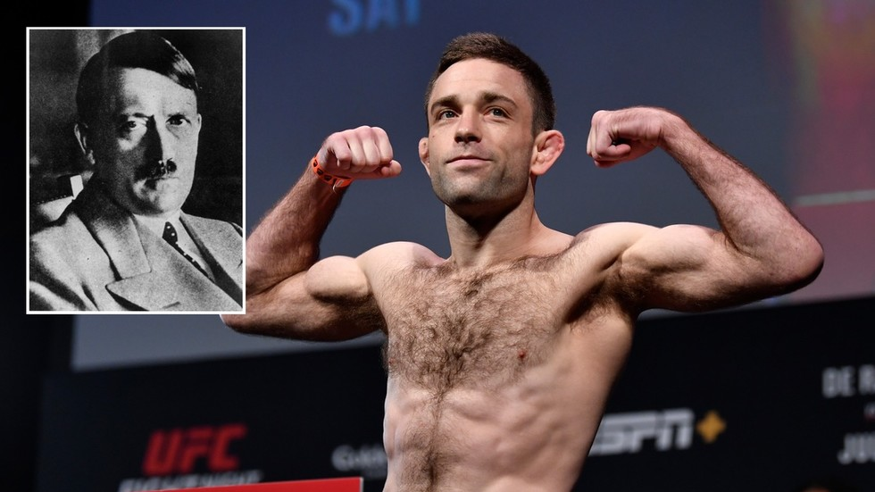 UFC's Ryan Hall uses 'apology from ghost of Hitler' to take aim at cancel culture