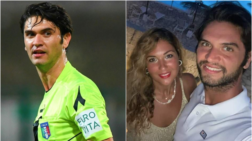 MANHUNT as Italian referee Daniele De Santis and fiancee STABBED to death in their apartment