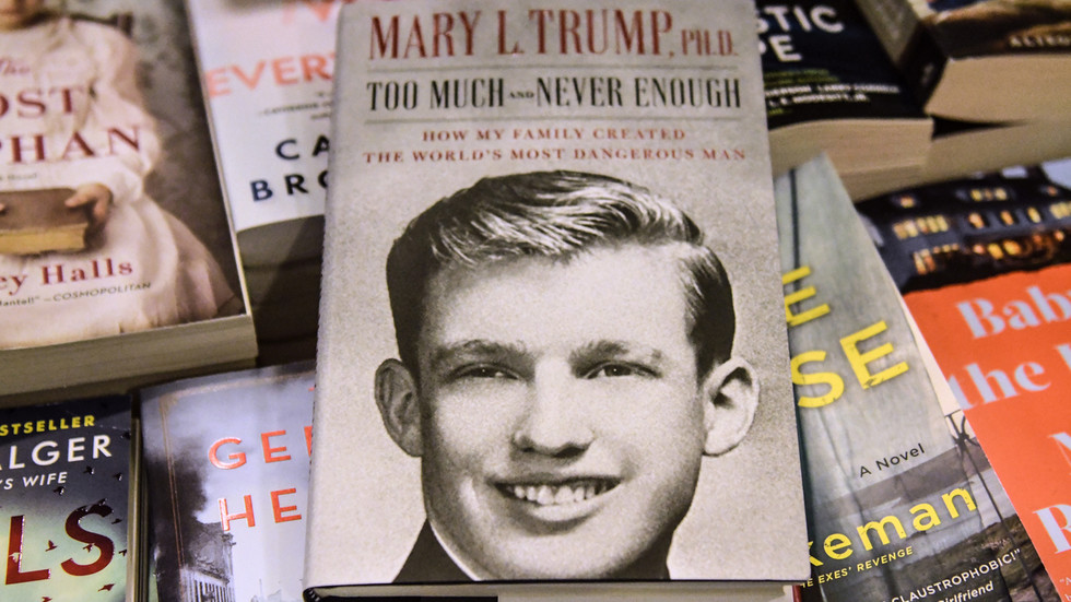 Tell-all book author Mary Trump SUES president & his siblings, claims she was cheated out of MILLIONS of dollars inheritance