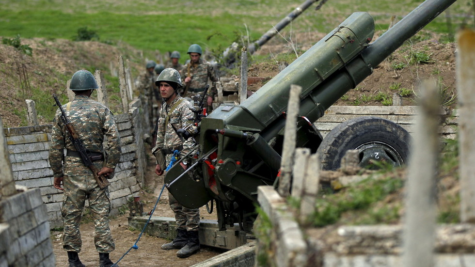 Hostilities break out between Armenia & Azerbaijan over long disputed Nagorno-Karabakh region, both countries trade blame
