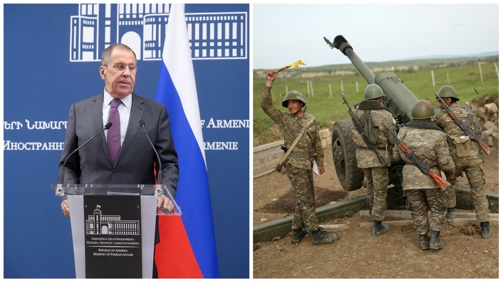 Moscow vows to carry on mediation efforts, urges Armenia & Azerbaijan to cease fighting over Nagorno-Karabakh