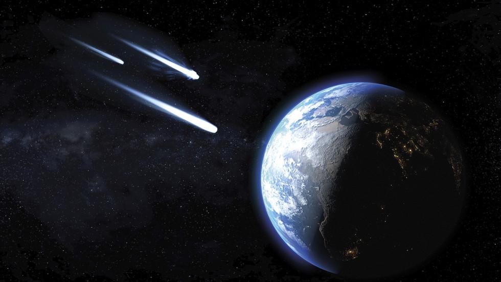 Statue of Liberty-sized space rock among FIVE headed towards Earth warns NASA - RT