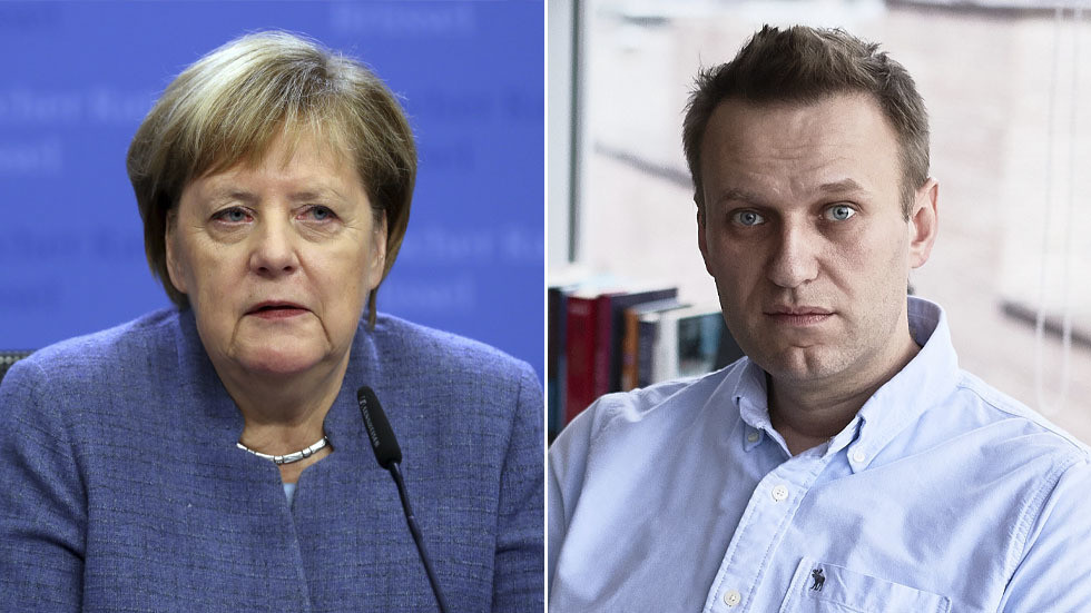Russian opposition figure Alexey Navalny confirms Angela Merkel visited him in Berlin hospital, expresses gratitude to Chancellor