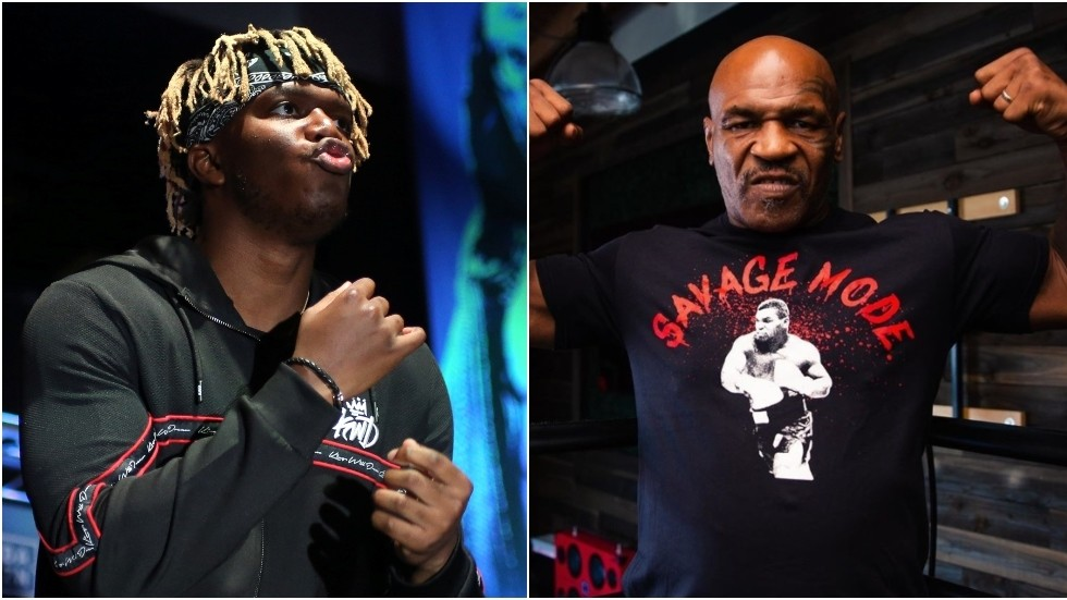 'I'd love this to happen... he'd get annihilated': Fans mock KSI after YouTuber claims he could beat boxing legend Mike Tyson