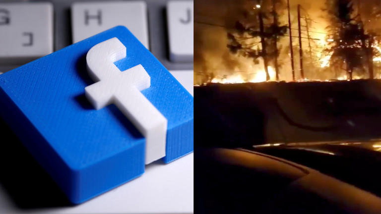 Facebook says it?ll REMOVE all posts alleging Oregon fires ?were started by certain groups? (rt.com)