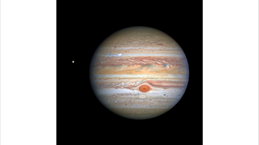 Fresh photos of Jupiter near its closest approach to Earth reveal NEW STORM on Solar System's largest planet
