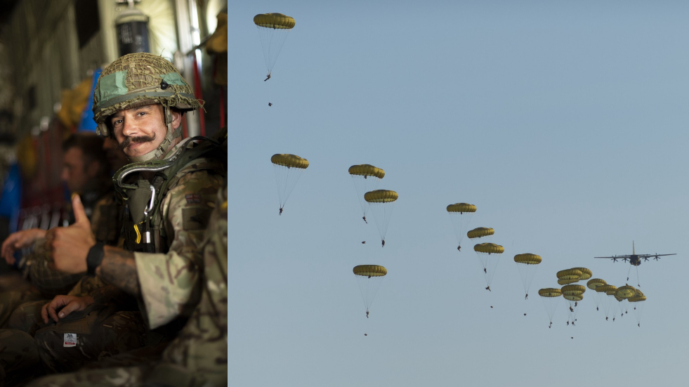 Really, lads? UK military touts Paratrooper deployment into 'Russia's BACKYARD'... that is, at Ukraine drills