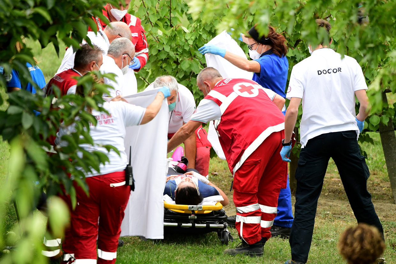US cyclist Chloe Dygert injured in horrific crash at road worlds