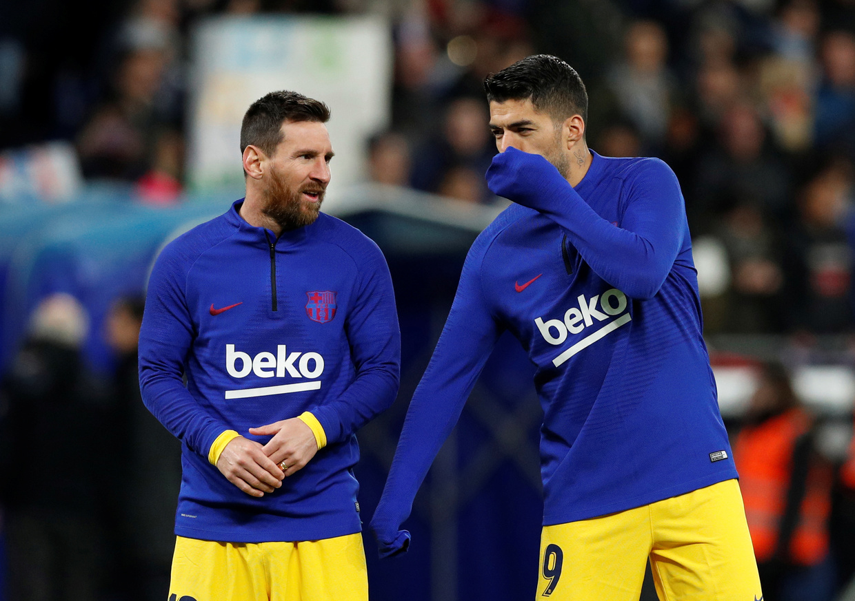 Barcelona coach Koeman: Of course Messi is angry about Suarez