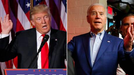 Donald Trump and Joe Biden © Reuters / Mike Segar and Elizabeth Frantz