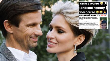 Zenit St. Petersburg boss Sergei Semak's wife, Anna (center), has warned fans after seeing an online scam © Instagram / annas_secret_garden
