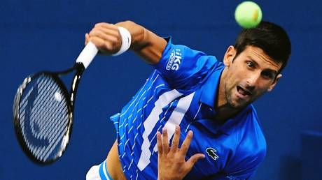 Ominous form: Novak Djokovic