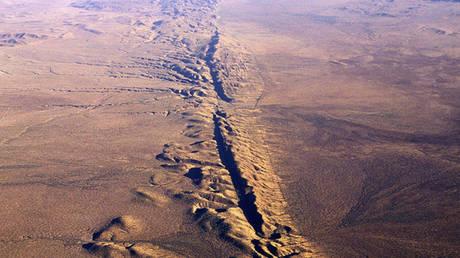 The San Andreas fault. © Francois Gohier/ Global Look Press